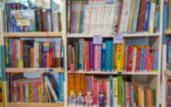 Library of kids books