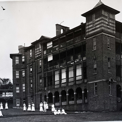 Royal Hospital for Women in 1901