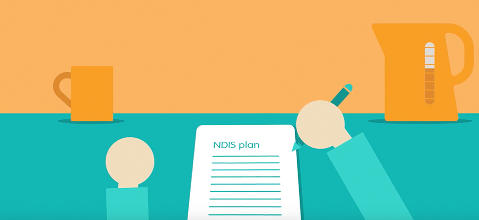Reviewing your NDIS plan video