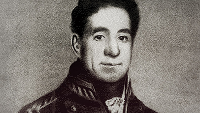 Governor Lachlan Macquarie's portrait