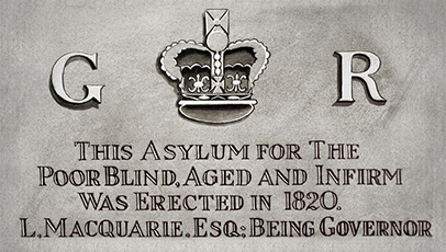 The asylum foundation stone